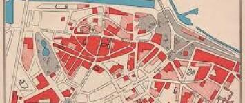 Hunnerberg en WO II - schadekaart_WO_II_Nijmegen