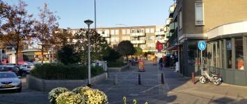 Opfleuren winkelgebied Leuvensbroek - ingang_Mickey